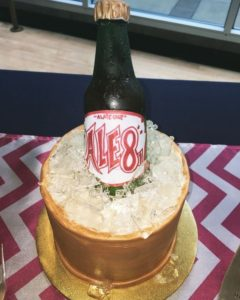 Ale-8 in ice bucket